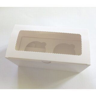 Cupcake Muffin Box 2er Cup Large