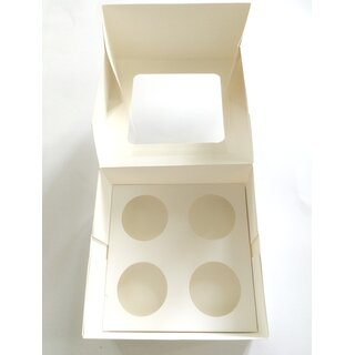 Cupcake Muffin Box 4er Cup Large