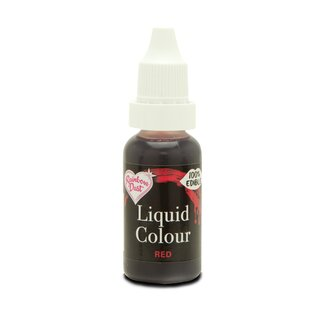 Rainbow Dust Liquid Colour Flo AirBrush Rot Lebensmittelfarbe